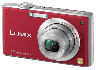 Panasonic Lumix FX40 là thế hệ kế tiếp của FX38, nhưng không được nâng cấp nhiều. Ảnh: Letsgodigital.