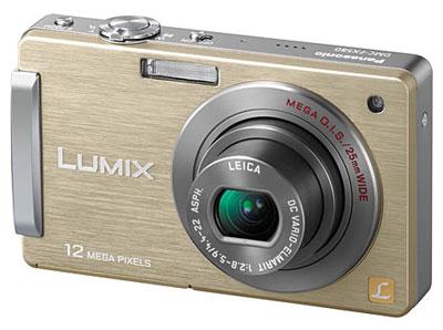 Panasonic Lumix FX550 là mẫu máy ảnh cảm ứng được nâng cấp từ FX520. Ảnh: Cnet.