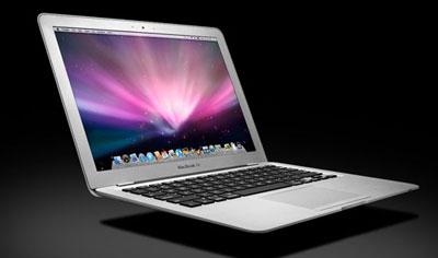 MacBook Air có dáng vẻ rất mỏng manh. Ảnh: Cnet.