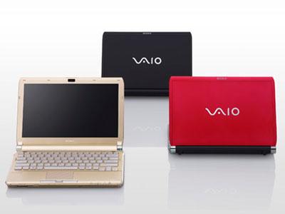 Sony Vaio TT có vỏ ngoài bằng sợi carbon. Ảnh: Cnet.