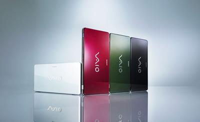 Vaio P là chiếc laptop 8 inch nhẹ nhất hiện nay. Ảnh: Sony.