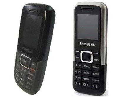 Bộ đôi E1210 và E1125 có thiết kế đơn giản . Ảnh: Gsmarena.