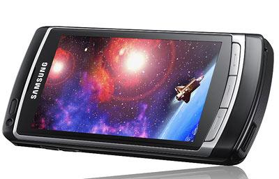 Những điện thoại cảm ứng như Omnia HD xuất hiện nhiều tại MWC. Ảnh: Cnet.