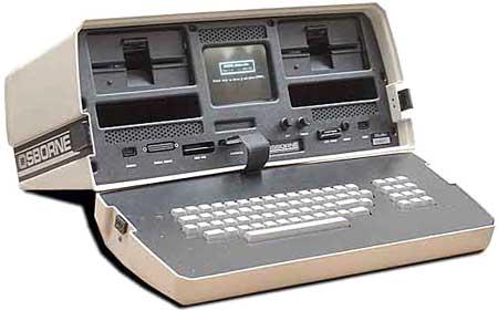 Osborne, laptop đầu tiên, ra đời năm 1981. Ảnh: Oldcomputers.