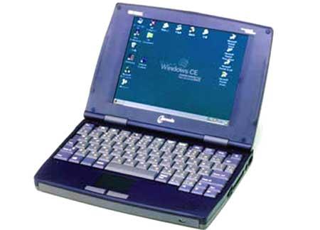 HP Jornada 820 (1998) ý tưởng netbook đầu tiên. Ảnh: Zdnet.