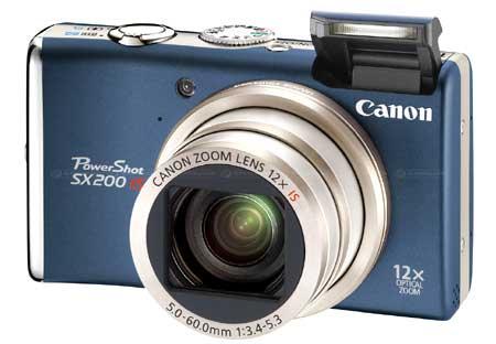 Canon SX200 IS. Ảnh: Photocapture.
