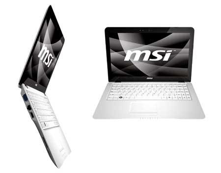 MSI X340 được thông báo là 899 USD. Ảnh: Yugatech.