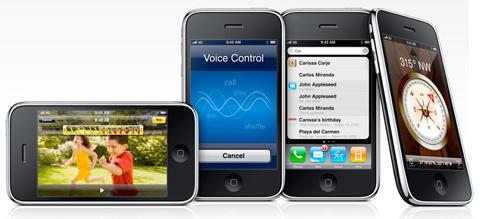 iPhone 3GS sở hữu nhiều tính năng mới. Ảnh: Apple.