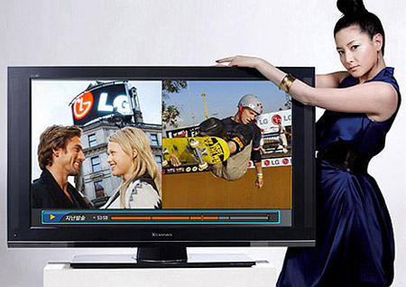 HDTV của các hãng lớn đang ngày một