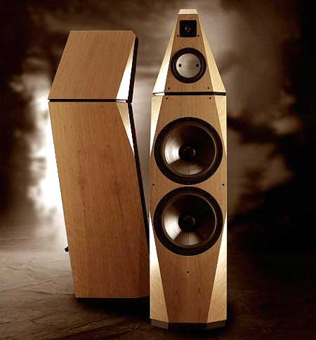 Avalon Isis. Ảnh: Stereophile.