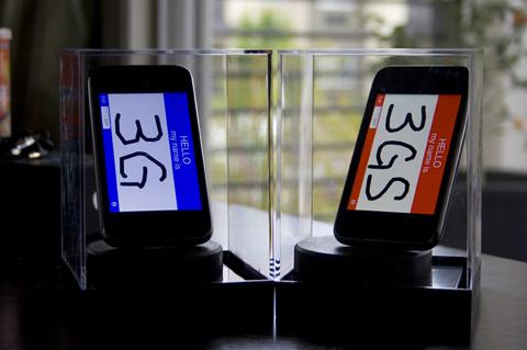 iPhone 3GS tốc độ nhanh hơn iPhone 3G. Ảnh: Gizmodo.