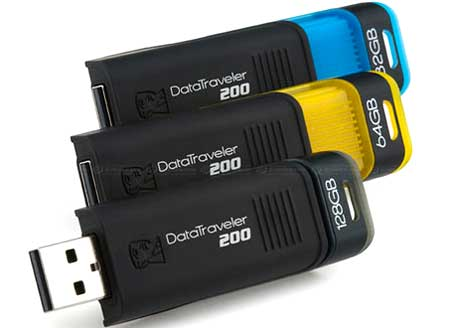 Kingston USB Data Traveler 200. Ảnh: Dpreview.
