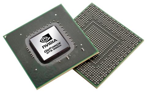 GTS 260M hỗ trợ đồ họa mạnh mẽ nhất. Ảnh: Laptoplogic.