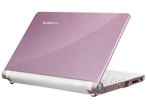 IdeaPad S10 thiết kế đẹp, nhiều tính năng. Ảnh: Cnet.