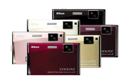 Nikon S60 trình duyệt ảnh giống iPhone. Ảnh: Digitalimage.