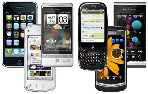 6 điện thoại cảm ứng đỉnh nhất hiện nay.