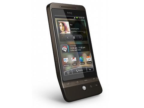 HTC Hero giao diện Sense.