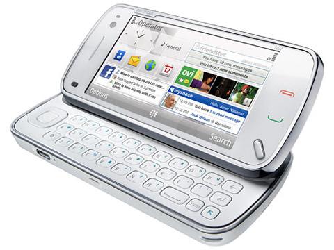 Nokia N97 có thêm bàn phím QWERTY.