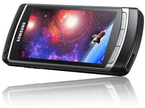 Omnia HD nổi bật với màn hình rực rỡ.