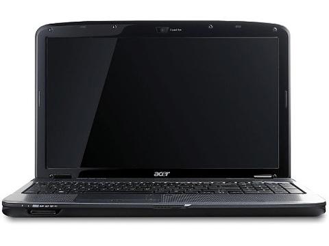 Aspire 5738Z màn hình cho phép xem phim tốt. Ảnh: Cnet.