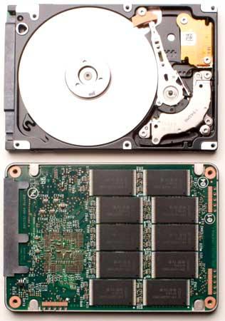 Ổ SSD bền hơn ổ cứng. Ảnh: Dvhardware.