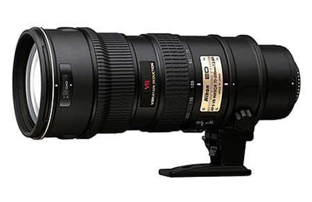 Nikon AF-S VR 70-200 mm, F/2.8G IF-ED là loại ống kính zoom cho chất lượng quang học rất tốt. Ảnh: Letsgodigital.