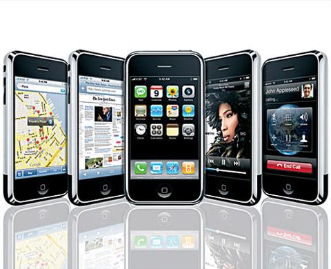 iPhone cho phép đi vào các ứng dụng đơn giản. Ảnh: Apple.