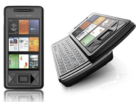 X-Panel lần đầu tiên xuất hiện trên Xperia X1. Ảnh: Sony Ericsson.