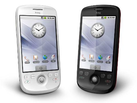 Magic có thiết kế đẹp hơn G1. Ảnh: HTC.