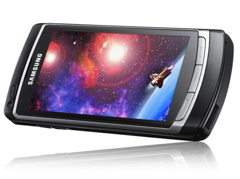 Samsung Omnia sử dụng giao diện S60. Ảnh: