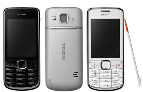 Nokia 3208c với màn hình cảm ứng 2,4 inch. Ảnh: Nokia.