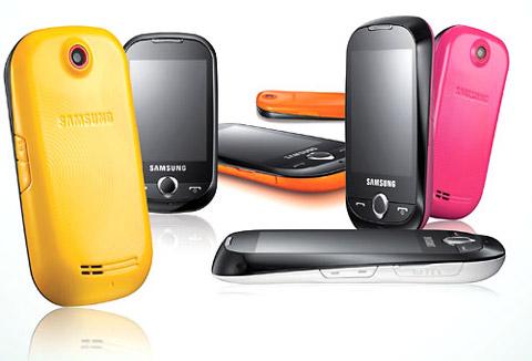 Model này có nhiều màu sắc khác nhau. Ảnh: Samsung.