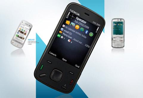 Di động trượt hai chiều không có thế mạnh như di động cảm ứng N-series. Ảnh: Nokia.