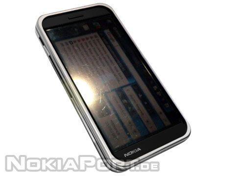 Hình ảnh rò rỉ của Nokia N902. Ảnh: