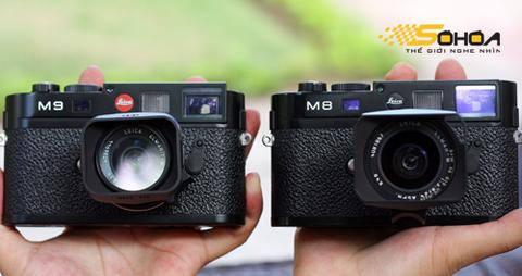 Leica m9 so dáng với đàn anh