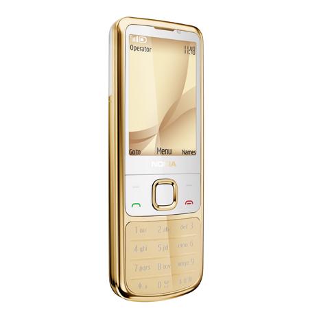 Nokia 6700 Classic phiên bản vàng.