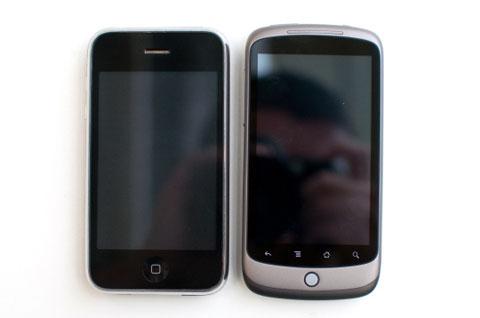 Giải trí đa phương tiện model này thua iPhone. Ảnh: Cnet.