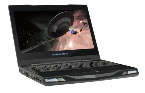 M11x giúp người dùng quên đi sự nằng nề và cồng kềnh của những cỗ máy chơi game thường thấy. Ảnh: Pcworld.