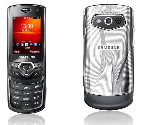 Samsung S5550 Shark 2 thời trang.