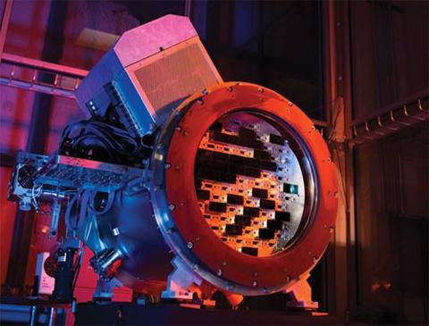 Camera này có độ phân giải 570 megapixel. Ảnh: Fermilab.