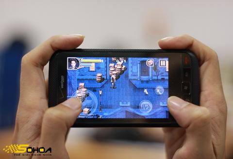 Các ứng dụng và game là những chương trình được khuyến khích phát triển. Ảnh: Quốc Huy.
