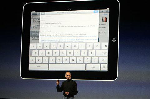 iPad được đồn thổi nhiều năm nay. Ảnh: Reuters.