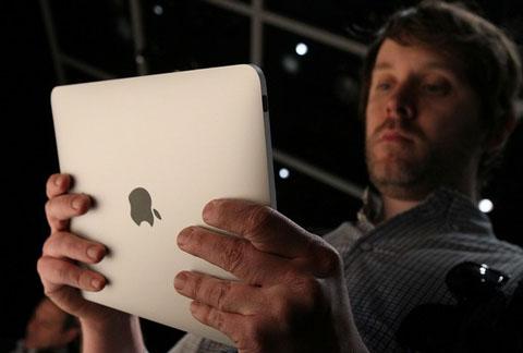 Điều giì sẽ làm nên thành công ở iPad?. Ảnh: Reuters.
