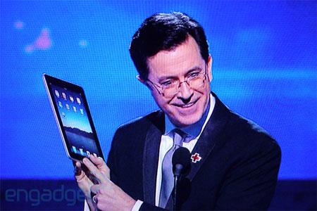 Clip iPad tại Grammy 52.