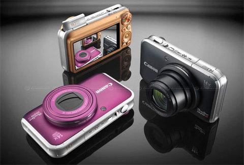 Canon SX201 IS cảm biến 14,1 triệu điểm ảnh, zoom quang 14x. Ảnh: Dpreview.