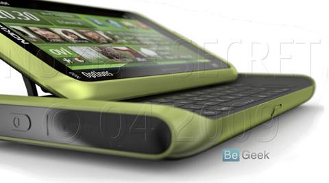 Hình ảnh được cho là Nokia N98. Ảnh: Begeek.