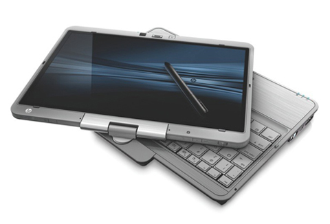 EliteBook 2740p với màn hình cảm ứng điện dung.