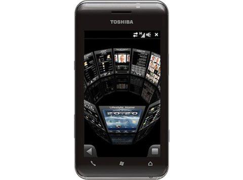 TG02 có màn hình cảm ứng điện dung.