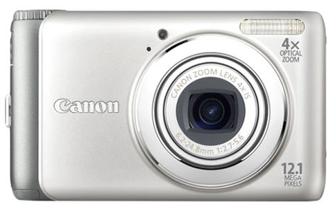 Canon Powershot A3100 IS. Ảnh: Cameralabs.
