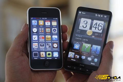 HTC sẽ sử dụng nhiều biện pháp chống Apple. Ảnh: Tuấn Hưng.